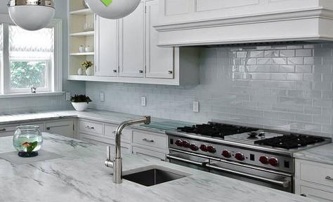 Backsplash.Com simply stylish subway tile | cavali design and build